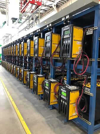 Forklift power systems